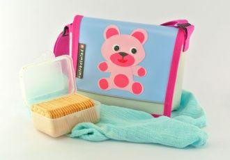 Kleinkind- Tasche mit Bär