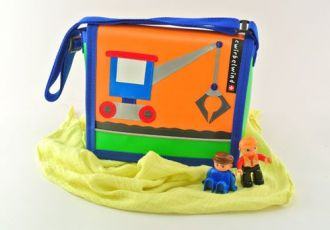 Kleinkind- Tasche mit Bagger