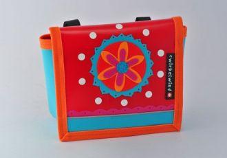 Kindergartentasche mit Blume und Muster