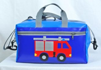Sporttasche mit Feuerwehrauto