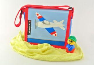 Kleinkind- Tasche mit Flugzeug