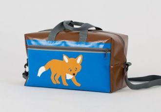 Sporttasche mit Fuchs