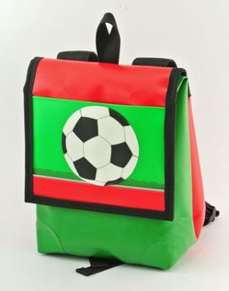 Kindergartenrucksack mit Fussball