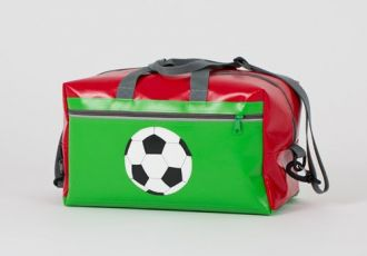 Sporttasche mit Fussball