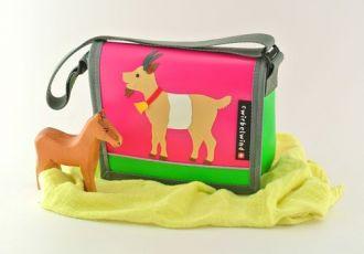 Kleinkind- Tasche mit Ziege