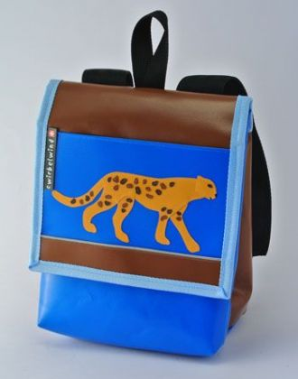 Kindergartenrucksack mit Gepard