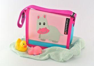 Kleinkind- Tasche mit Nilpferd