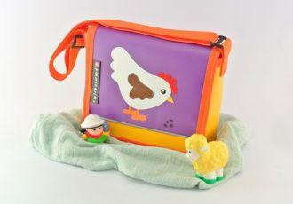 Kleinkind- Tasche mit Huhn