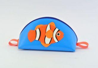 Necessaire mit Clownfisch