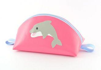 Necessaire mit Delfin
