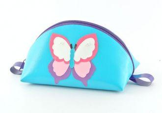 Necessaire mit Schmetterling