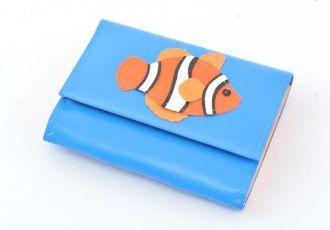 Portemonnaie mit Clownfisch