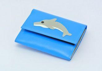 Portemonnaie mit Delfin