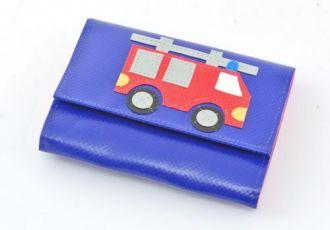 Portemonnaie mit Feuerwehrauto