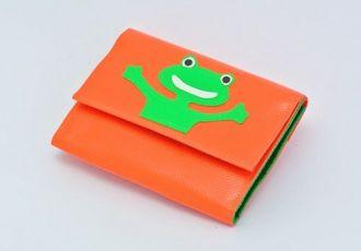 Portemonnaie mit Frosch
