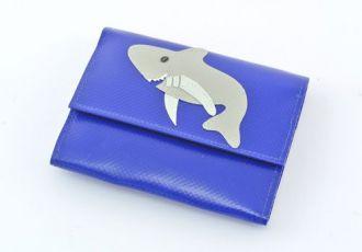 Portemonnaie mit Hai