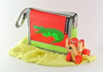 Kleinkind- Tasche mit Krokodil