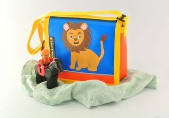 Kleinkind- Tasche mit Löwe
