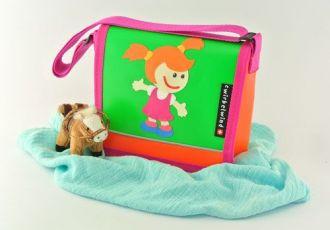 Kleinkind- Tasche mit Mädchen