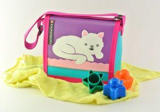Kleinkind- Tasche mit Katze