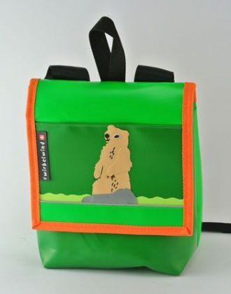 Kindergartenrucksack mit Murmeltier