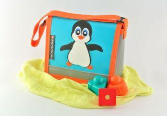 Kleinkind- Tasche mit Pinguin