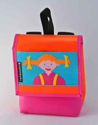 Kindergartenrucksack mit Pipi Langstrumpf