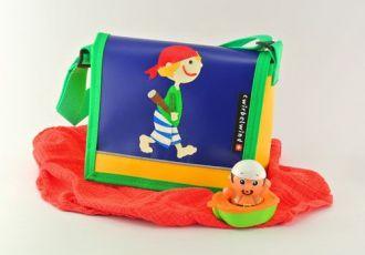 Kleinkind- Tasche mit Pirat