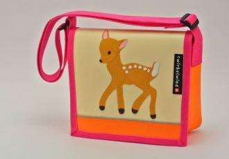 Kindergartentasche mit Rehkitz