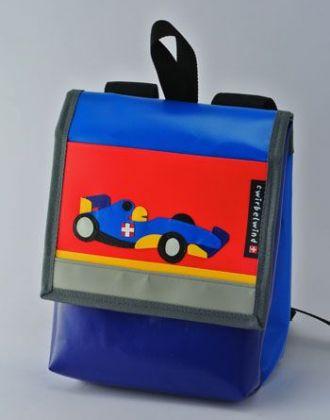 Kindergartenrucksack mit Rennauto