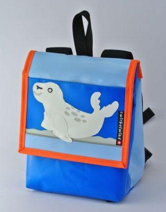 Kindergartentasche mit Robbe