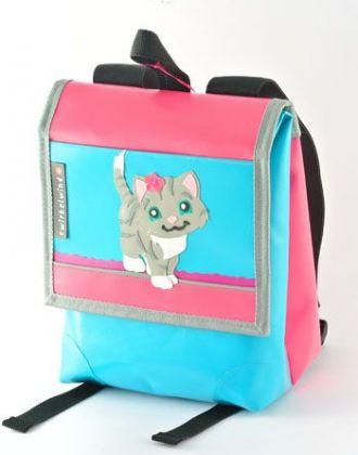 Kindergartenrucksack mit Katze
