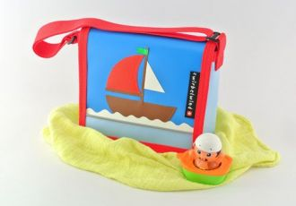 Kleinkind- Tasche mit Schiff