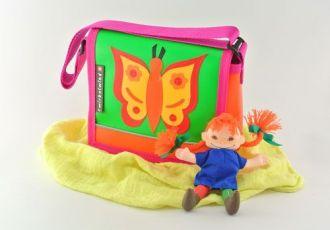 Kleinkind- Tasche mit Schmetterling
