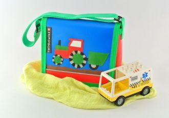 Kleinkind- Tasche mit Traktor