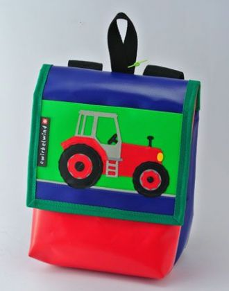 Kindergartenrucksack mit Traktor