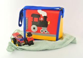 Kleinkind- Tasche mit Zug