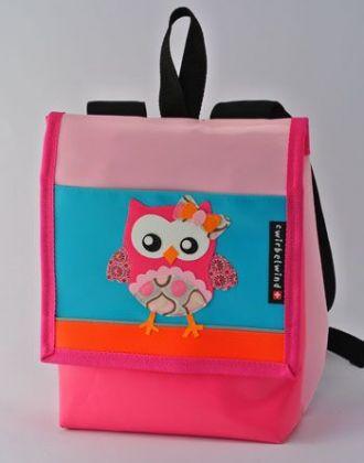 Kindergartenrucksack mit Eule