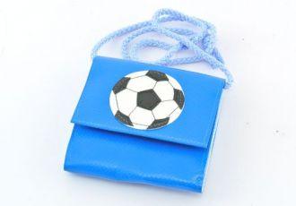Portemonnaie mit Fussball