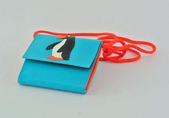 Portemonnaie mit Pinguin