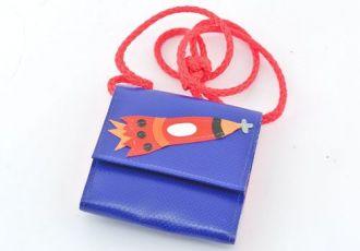 Portemonnaie mit Rakete