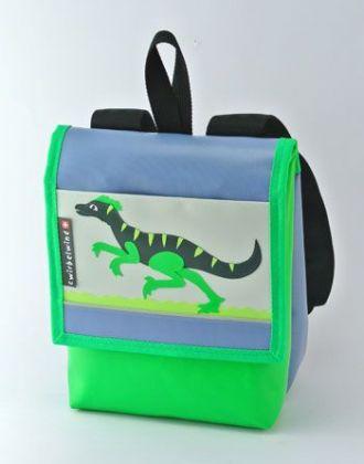 Kindergartenrucksack mit Velociraptor