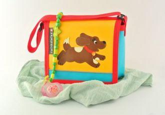 Kleinkind- Tasche mit Hund