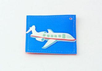 Jööli- Anhänger mit Flugzeug
