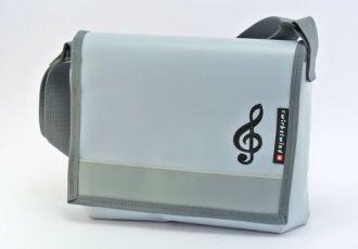 Musiktasche mit Notenschlüssel