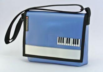 Musiktasche mit Klavier