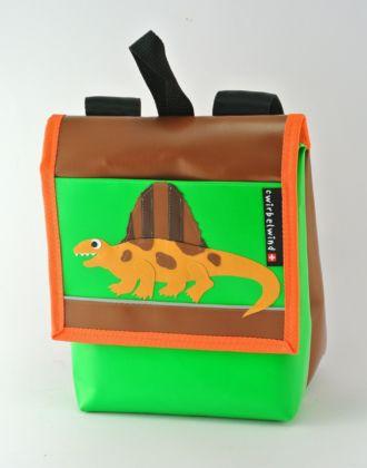 Kindergartenrucksack mit Dimetrodon
