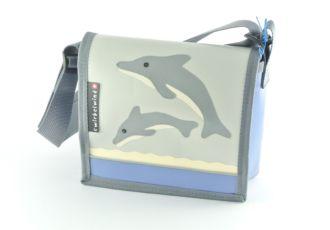 Kindergartentasche mit Doppeldelfin