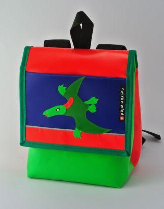 Kindergartenrucksack mit Flugsaurier