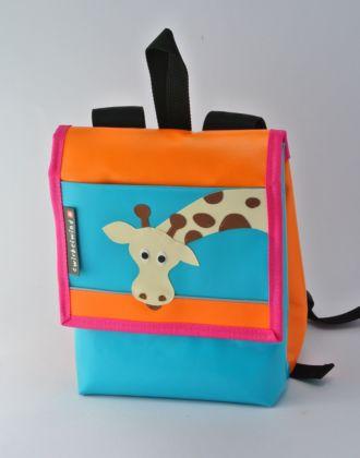 Kindergartenrucksack mit Giraffe